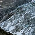 Gletscherrisse im Eis