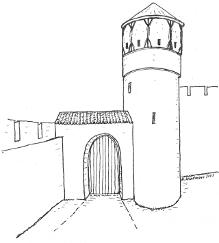 Zweites Eingangstor