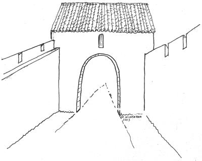 Drittes Eingangstor